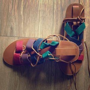 Sseko handmade custom leather sandals
